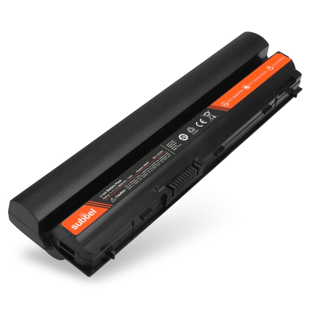 Batterie de remplacement pour ordinateur portable Dell Latitude E6120 / E6230 / E6120 / E6220 / E6320 / E6430S - YJNKK 6600mAh