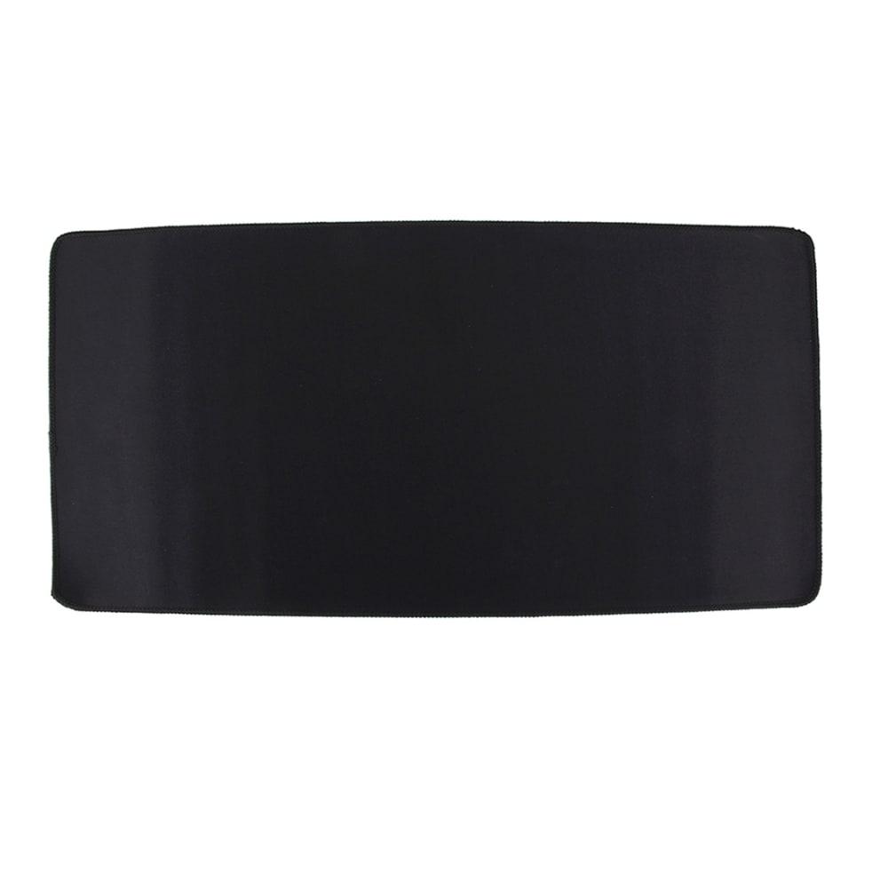 Tapis de souris grand format pour le jeu et le design graphique - taille: 60 x 30cm Sous-main, noir   Tapis de souris