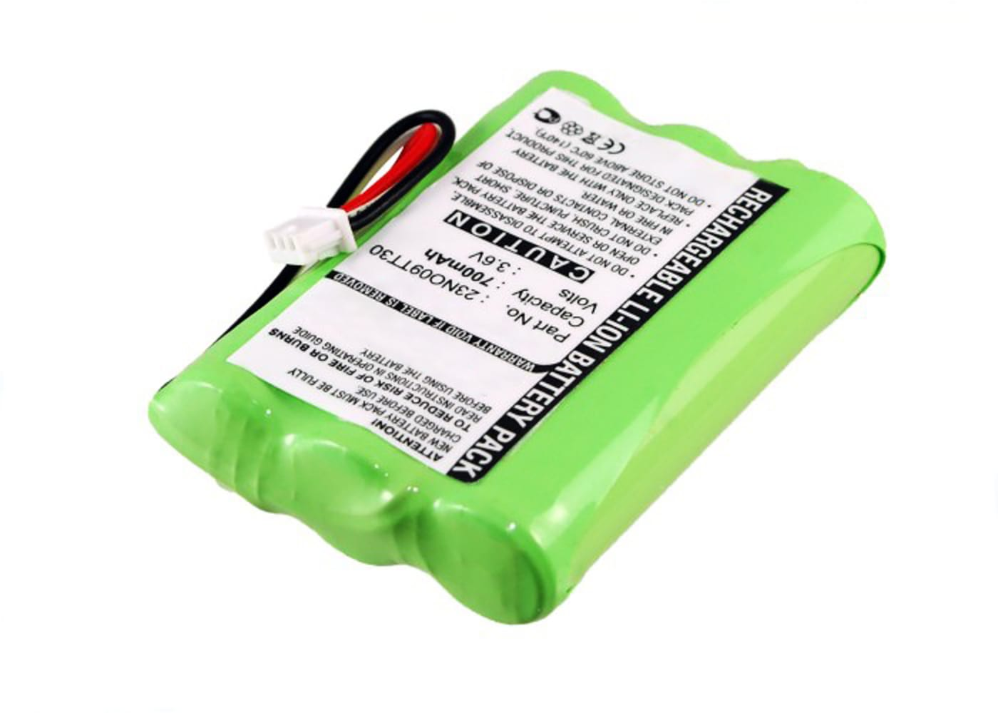 subtel® genopladelige battereri til Agfeo DECT 30 Agfeo DECT 45, Auerswald Comfort DECT 800, Tiptel 500 Dect, Elmeg DECT 400, Kirk T-PLUS2, Polycom KIRK 4040, Spectralink 7440 - 84743411,AH-AAA600F,P11,T016 700mAh - udskift dit mobilbatteri