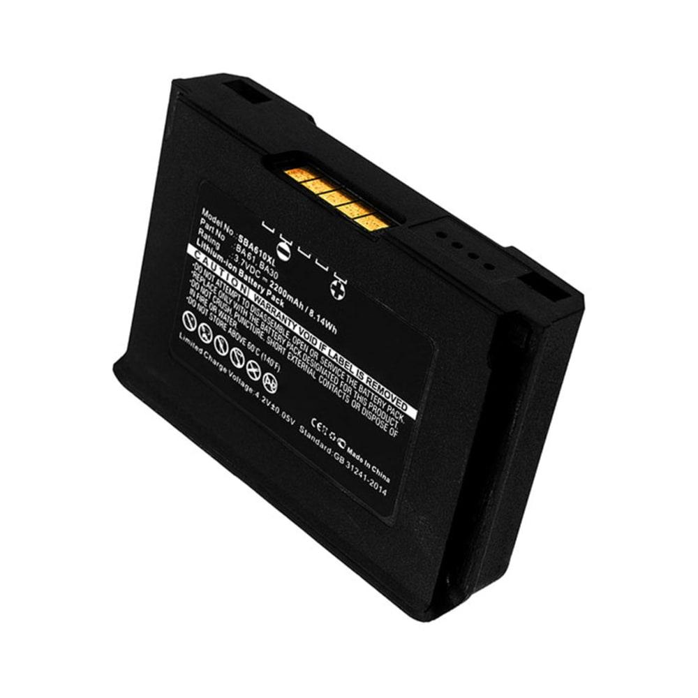 Batterie pour Sennheiser SK 6000 series / SK 9000 series - BA 61, B61, 504703, 56429 701 098 2200mAh