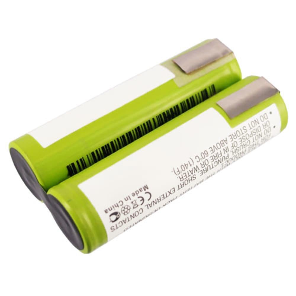 Batteria BST200 per Bosch 2 Li, PSR200 Li, Prio Lithium-ion, PSR7.2 Li,AGS7, PKP7.2 Li, Prio 7.2 Li Affidabile batteria di ricambio da 2.2Ah ioni di litio senza effetto memorie Sostituzione