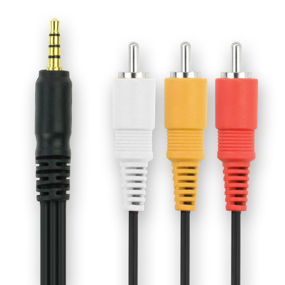 Audio Video Composite Cable EG-D2 for Nikon D80 / D3 / D2Xs / D2X / D2Hs / D2H / D5000 / D90 / D300S Video cable