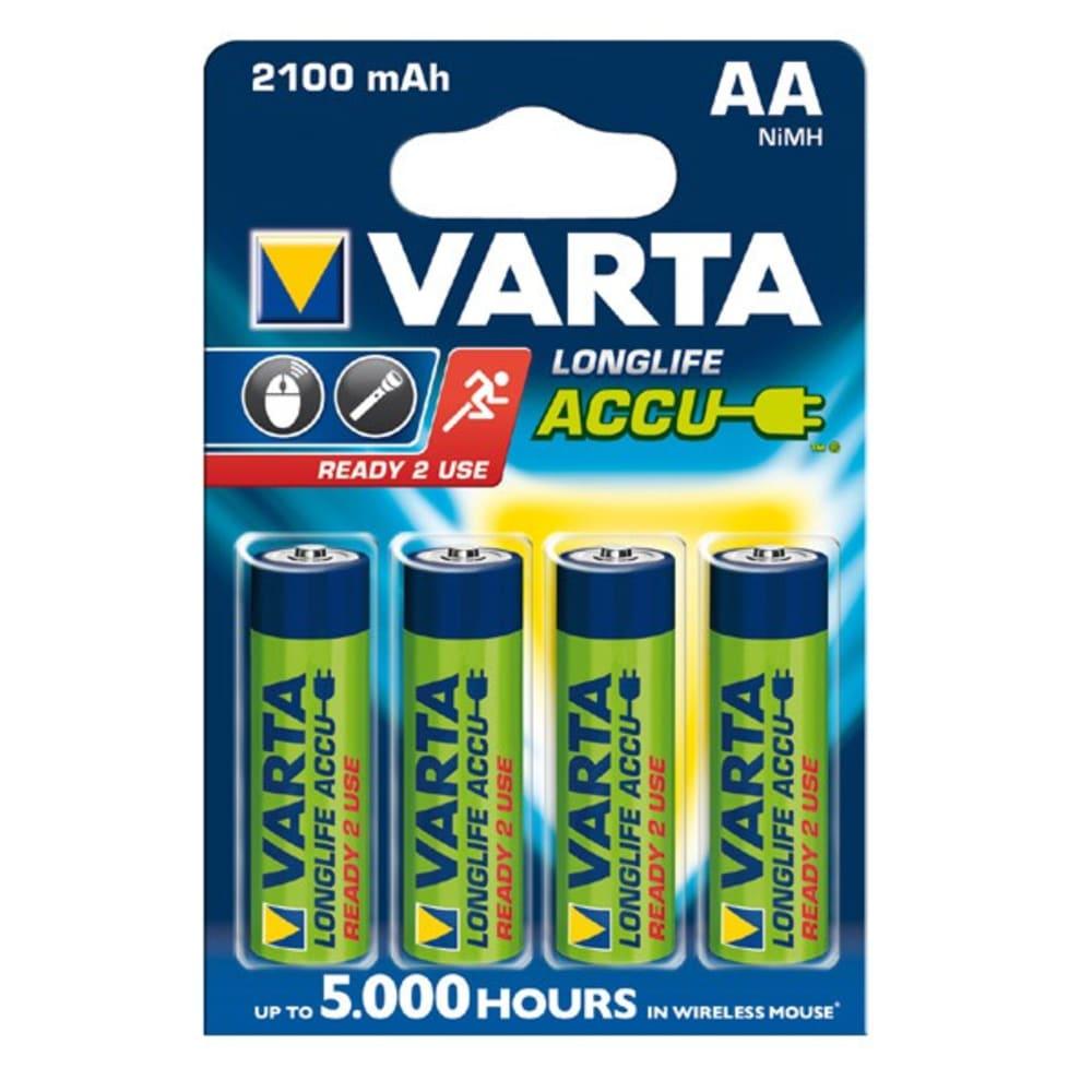 Akku paristo AA Varta Long Life Accu Varta 56720 4x