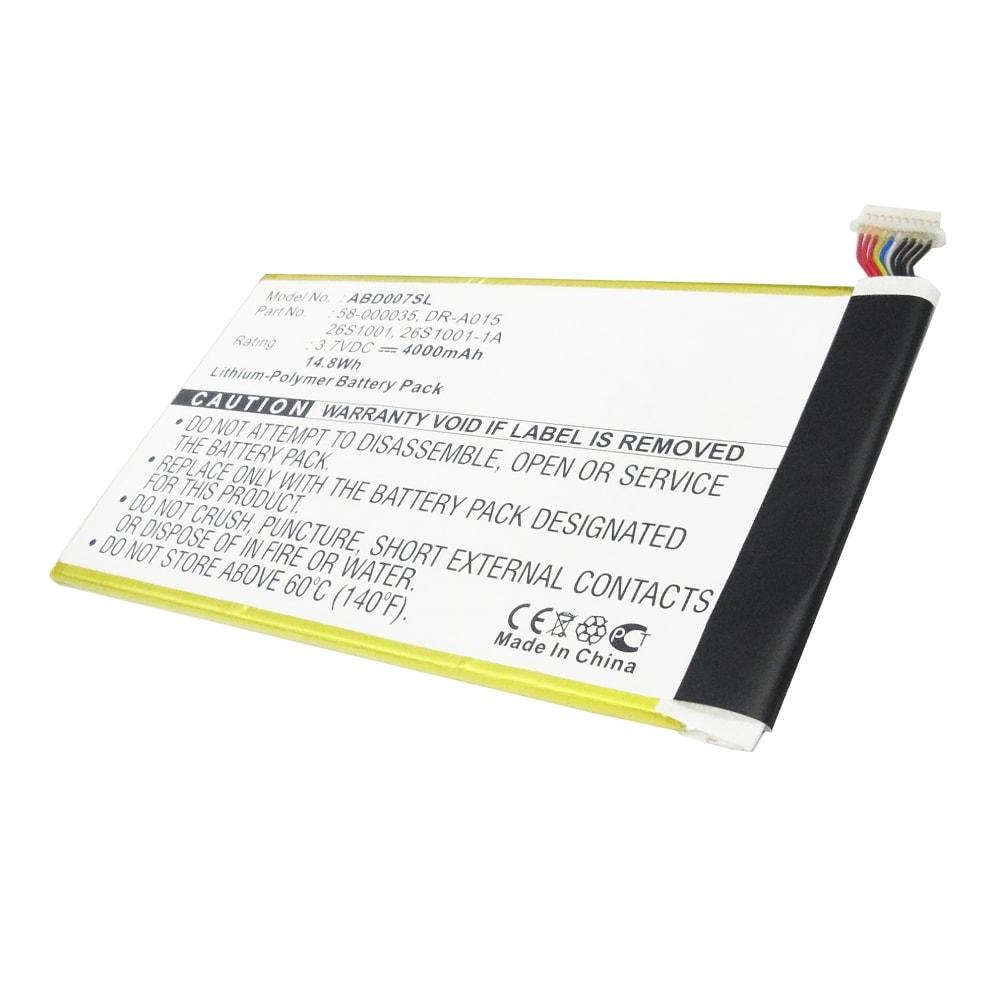 Batterie neuve de remplacement pour tablette Amazon Kindle 40   Fire HD 40    DR A0140 40mAh