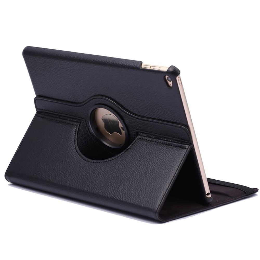 Etui Smart Case 360° pour iPad Air 2 (A1566/A1567) - Cuir synthétique, noir Housse Pochette