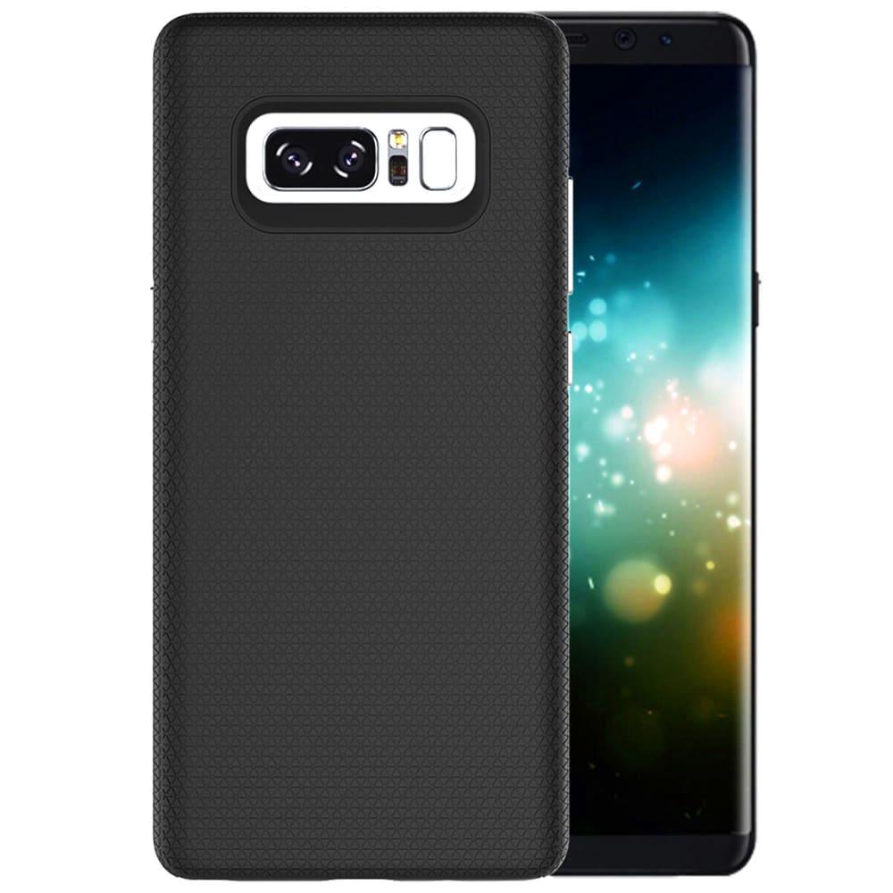 Backcover pour Samsung Galaxy Note 8 (SM-N950) - TPU, noir Etui,Housse, Coque, Pochette