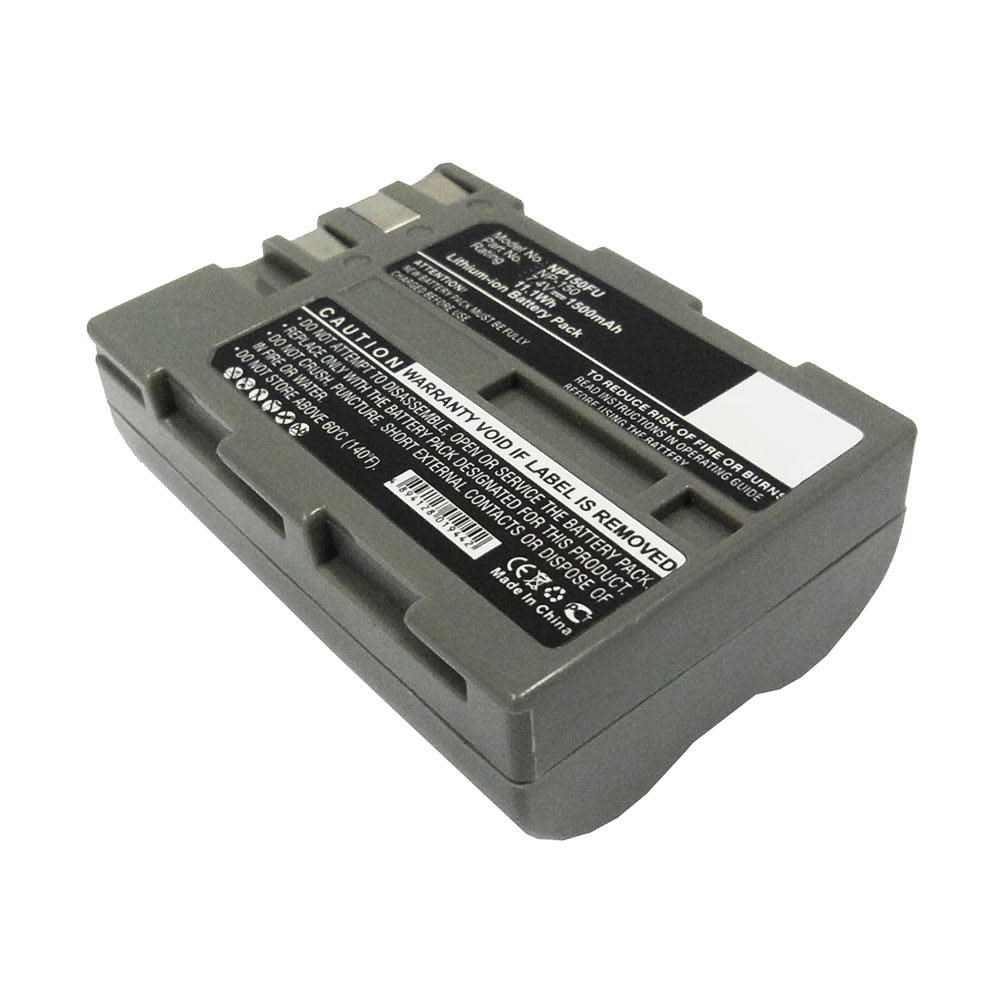 NP-150 Battery for Fuji FinePix A205S, FinePix A205S Zoom, FinePix S5 Pro 1500mAh Digital Camera Battery Replacement Spare Battery Backup Power Pack