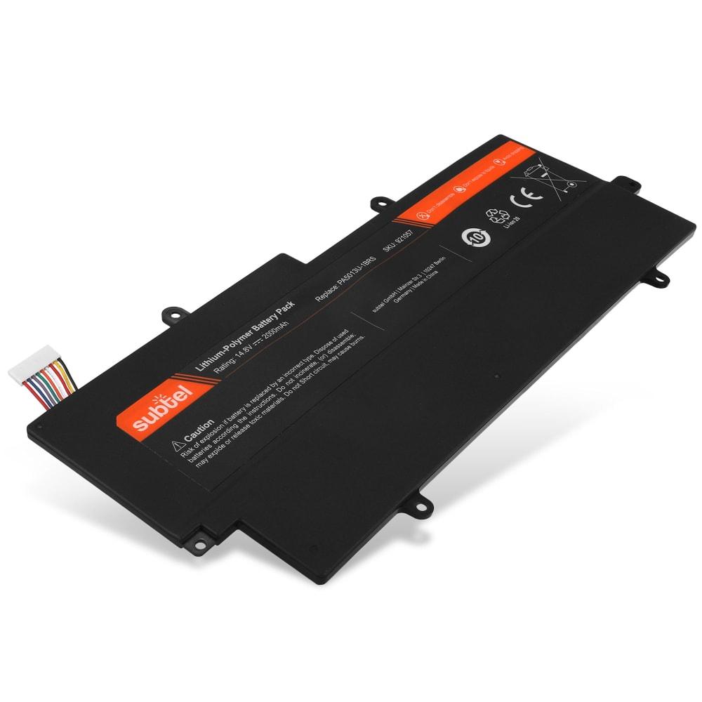 Batterie de remplacement pour ordinateur portable Toshiba Portege Z830 / Z835 / Z930 / Z935 - PA5013U-1BRS 2000mAh