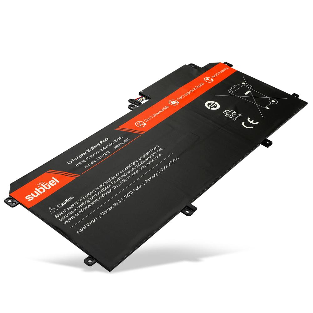 Batterie de remplacement pour ordinateur portable Asus Zenbook UX330C / UX330CA - C31N1610, 0B200-02090100 3000mAh