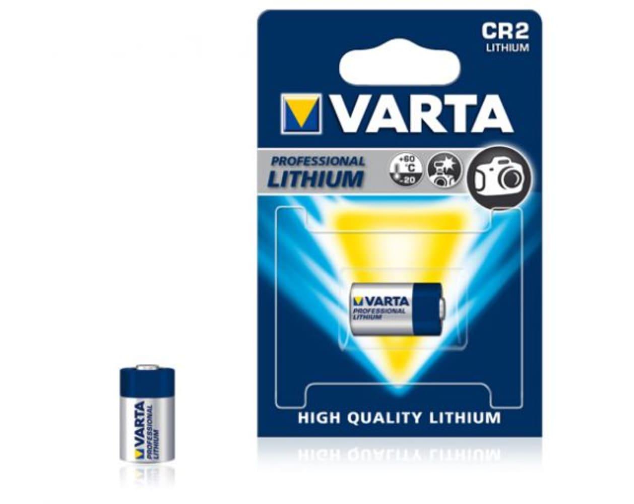 Batterie Varta Professional Lithium 6206 1x CR2 / CR15H270