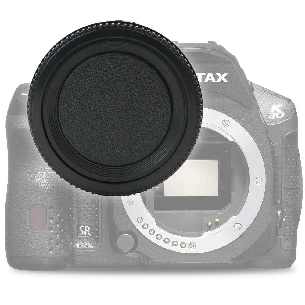 Gehäusedeckel Body Cap für Pentax K-30 K-50 K-3 K-S1 K-S2 K-x, Pentax istD istDL2, Bajonettverschluss Kappe, Schutzdeckel Pentax K (PK) / Pentax SMC DA Mount