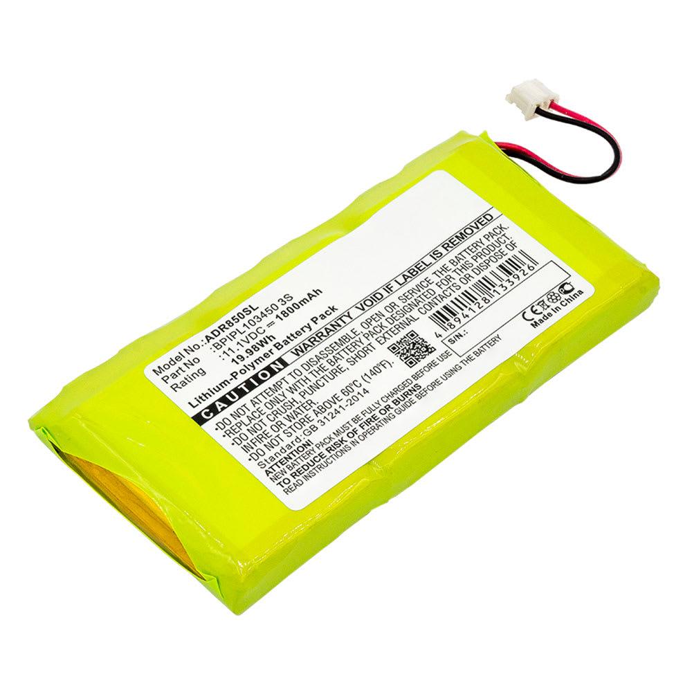Batterie pour Albrecht DR 850 DAB Radio - BPIPL103450 3S 1800mAh