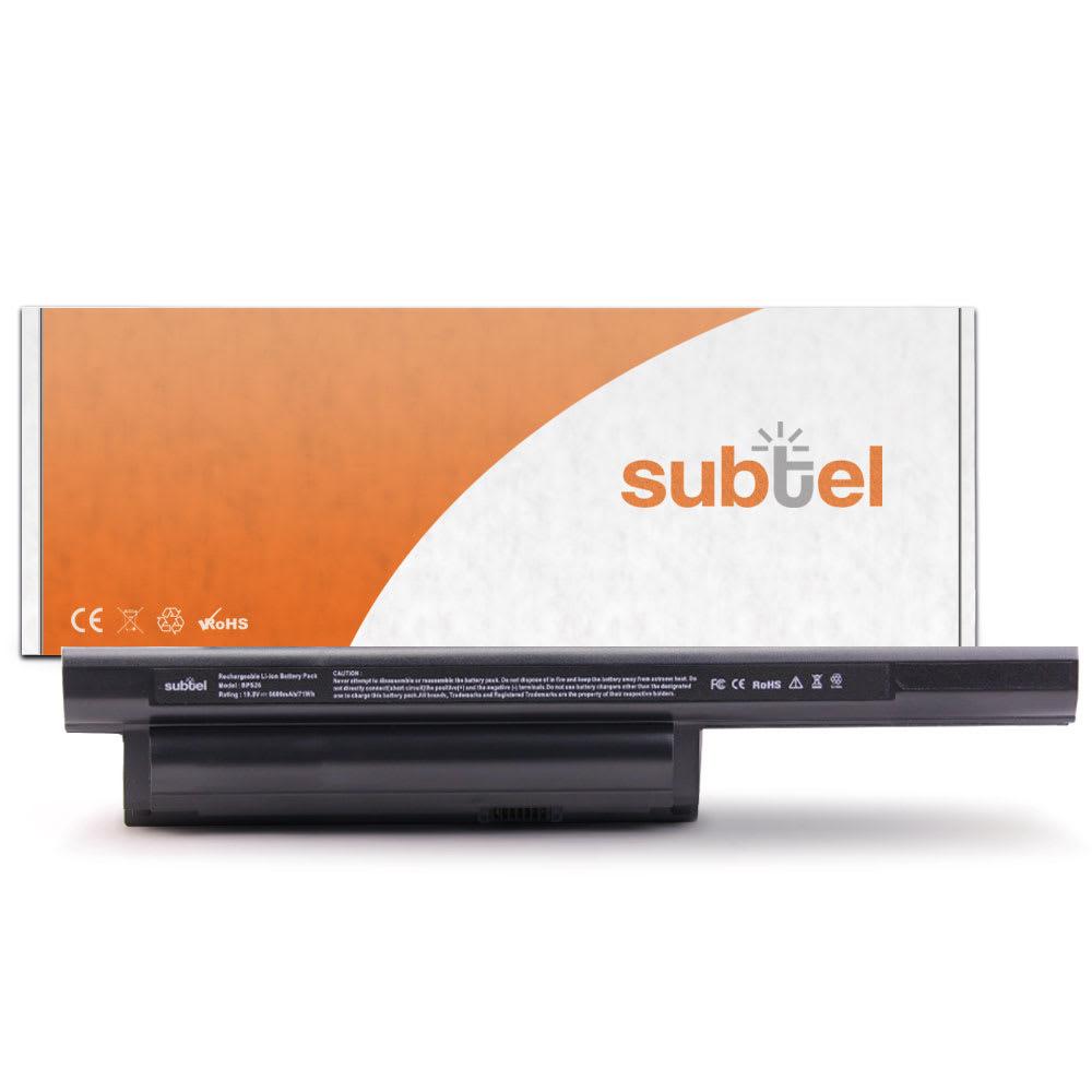 Batería para Sony Vaio SVE14 / SVE15 / SVE17 / VPCCA / VPCCB / VPCEG / VPCEH / VPCEJ  (6600mAh) VGP-BPS26