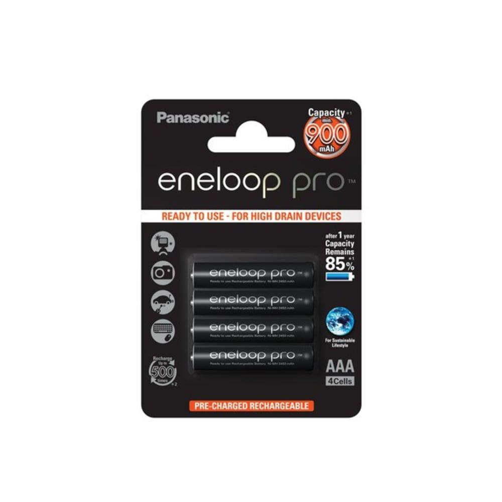 Accus Batteries AAA  Panasonic eneloop pro BK-4HCCE 4x