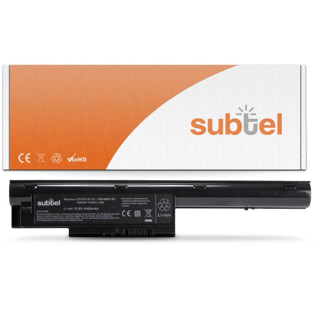 Batterie de remplacement pour ordinateur portable Fujitsu LifeBook BH531 / LH520 / LH531 / SH531 / PH521 - FMVNBP195 4400mAh