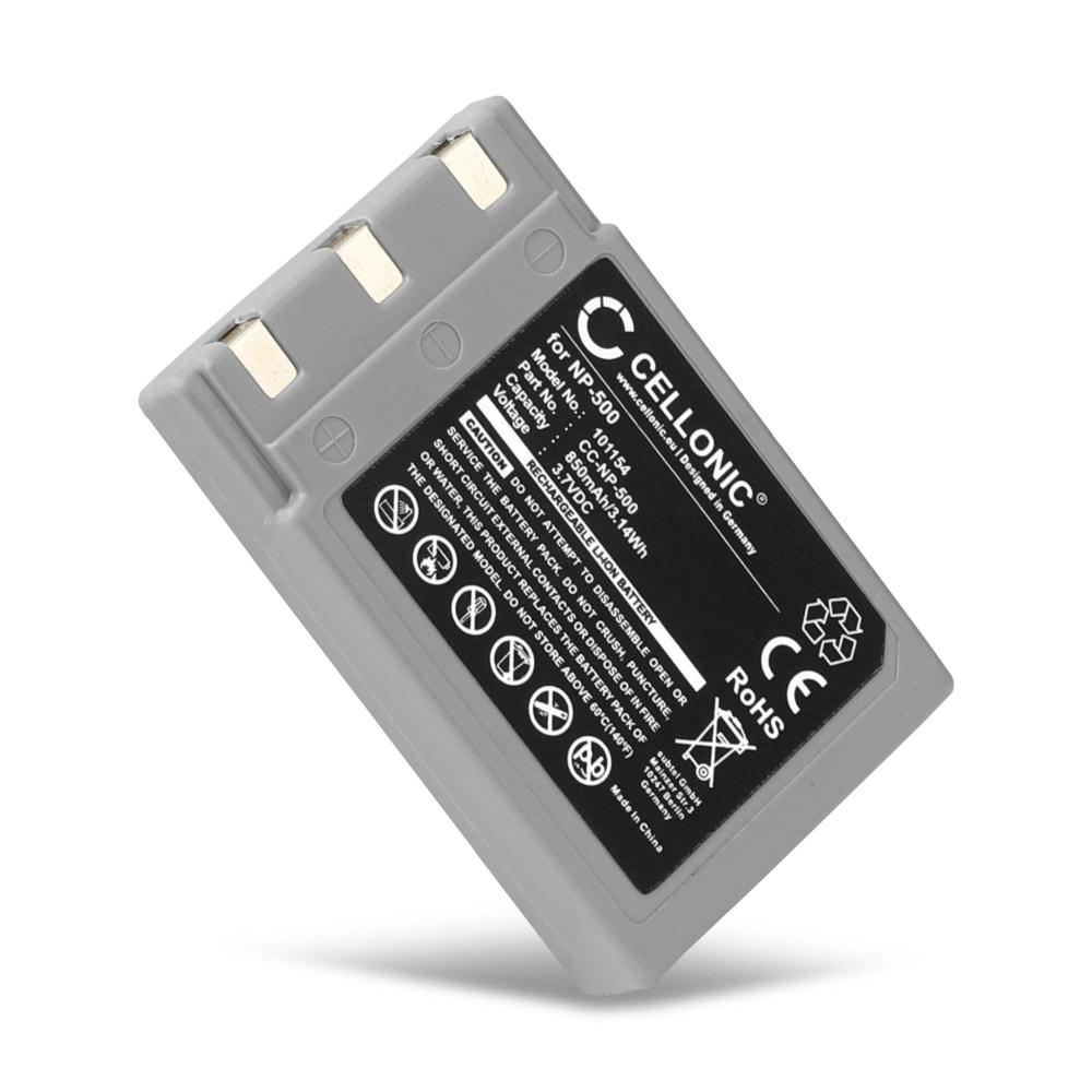 Kamera Akku für Konica Minolta Digital Revio KD-500Z KD-420Z Konica Minolta Dimage G400 G500 G600 Concord Eye Q - 431-XXX NP-500 NP-600 DR-LB4 Ersatzakku 900mAh , Batterie