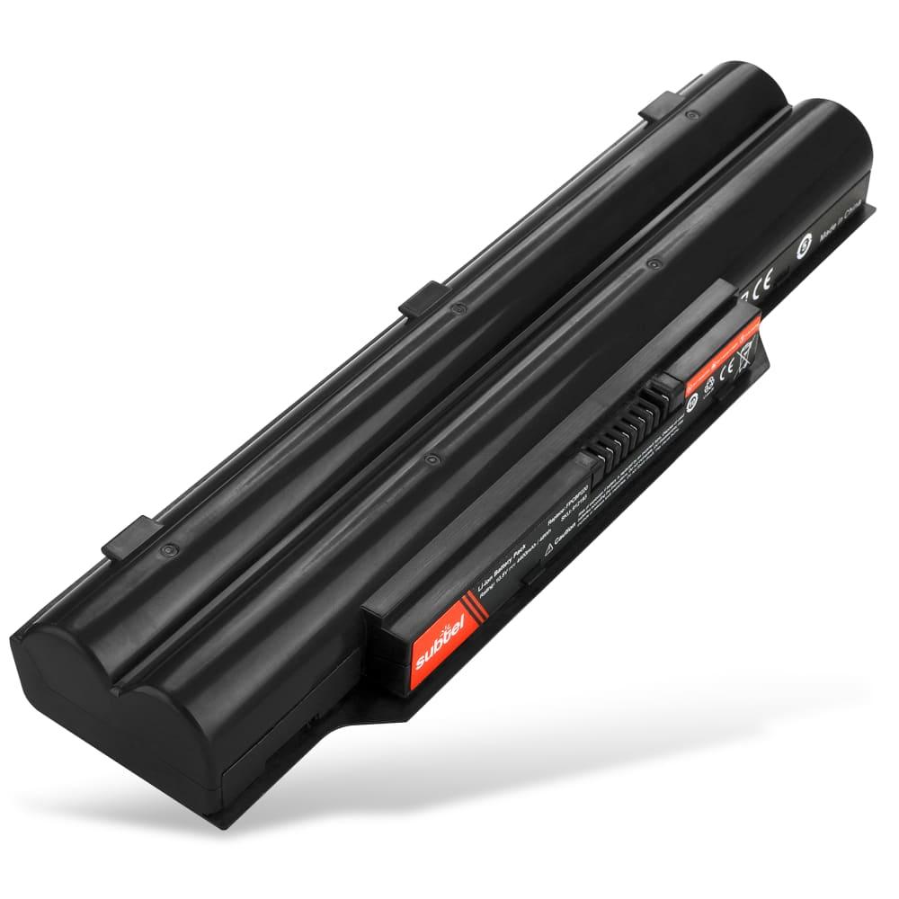 bærbar batteri til Fujitsu LifeBook A530 / A531 / AH530 / AH531 / P8110 - FPCBP281 (4400mAh) Notebook udskiftsningsbatteri og ekstra batteri til computer
