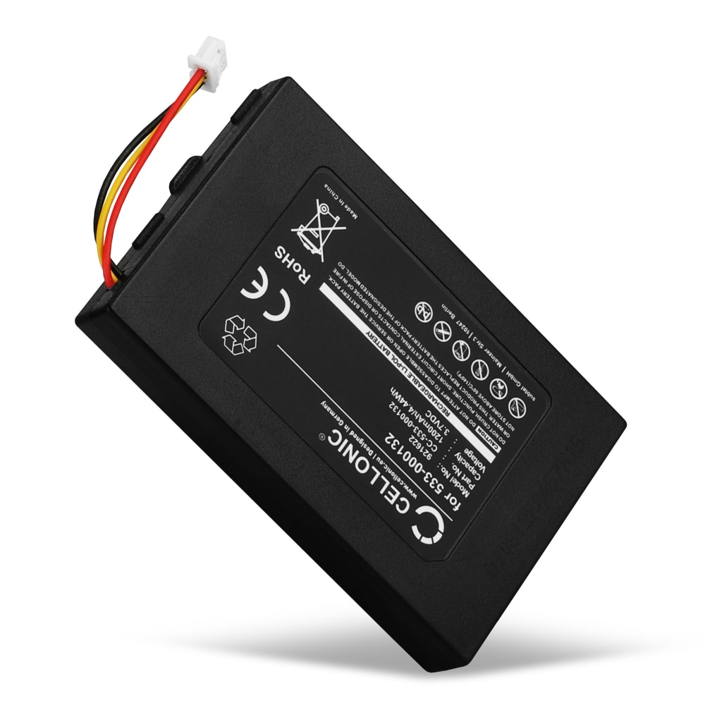 Batterie pour Logitech G533, Logitech G933 - 533-000132 1200mAh
