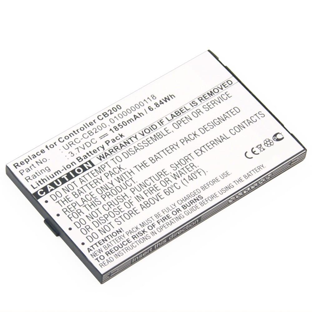 Akku für Sonos CB200 Controller CR200 CB200WR1 - URC-CB200 01000000118 MH28768 425060N 108098058018052 (1850mAh) Ersatzakku