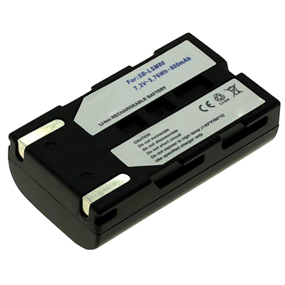 Batterij voor Samsung VP-D351, -D361, -D365, -D371, VP-D461, -D463, -D455, -D453, VP-DC163, VP-DC575 - SB-LSM80,SB-LSM320 (800mAh) vervangende accu