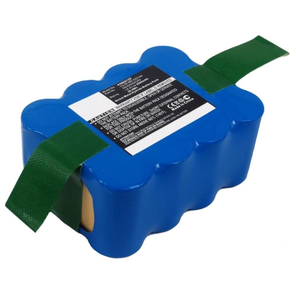 Akku pölynimuriin Hoover RBC009/ RBC001/ RBC003, Samba XR210, 2000mAh, 14.4V, NiMH - 35601254/RB201, NS3000d03x3 vaihtoakku
