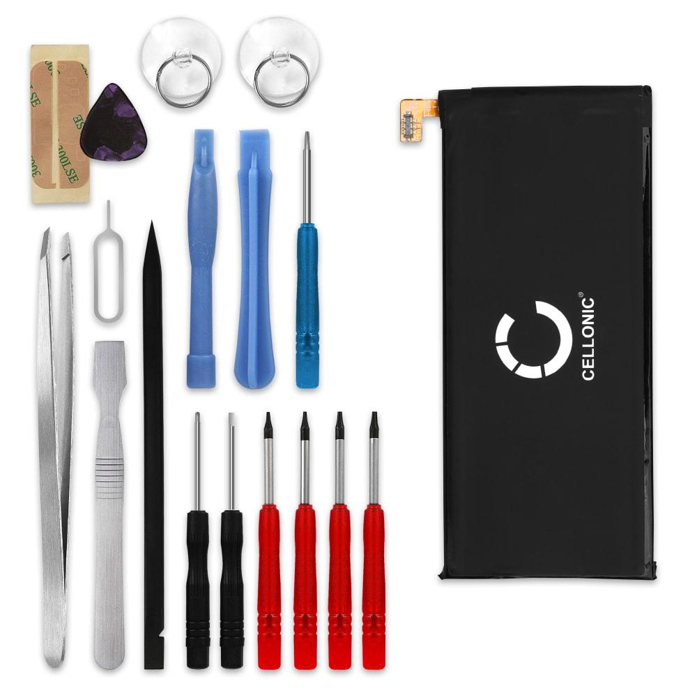 Batterie pour téléphone portableAlcatel Pop 4S / One Touch Pop 4S (OT-5095) - TLp029B1, 2950mAh interne neuve + Set de micro vissage, kit de remplacement / rechange