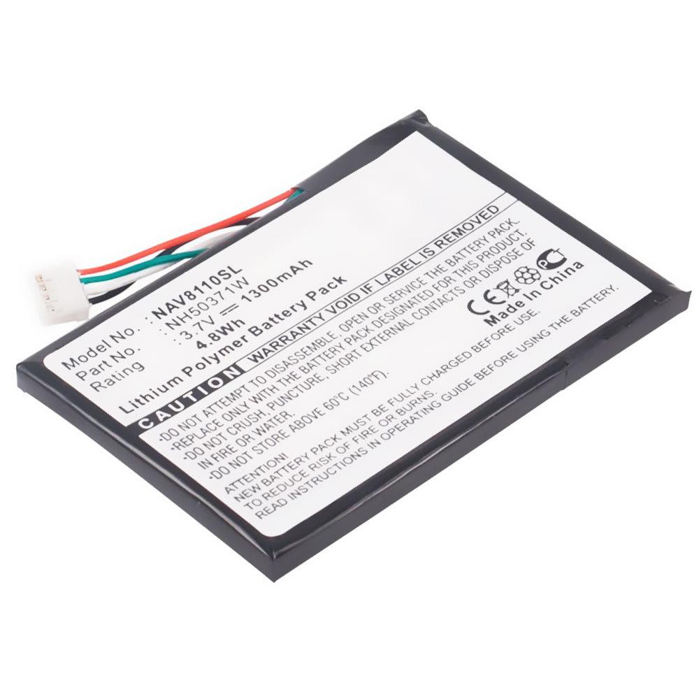 subtel® GPS Batteri til Navigon 8110 / 8130 / 8310 761NH50371W 1300mAh SatNav nyt Navigationsbatteri