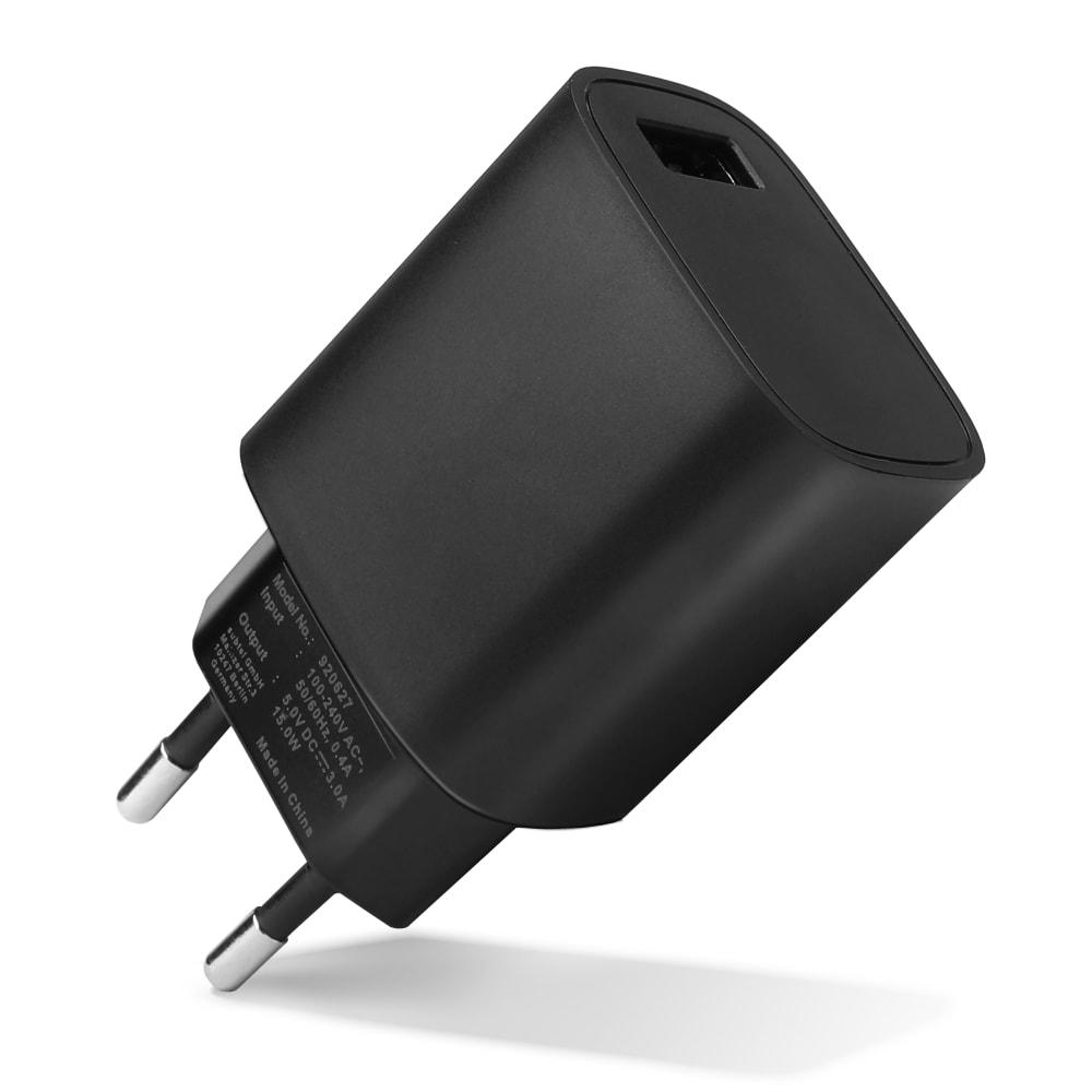 1 Port USB Ladegerät für 1 USB Port 3A / 3000mA (220V - 240V) mit 15W - 3A, USB Schnellladegerät USB Netzteil für Steckdose USB Ladestation Ladestecker