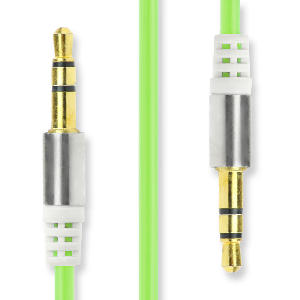 Câble Jack 3,5mm Jack à 3,5mm Jack (1m) Adaptateur Câble Audio (Aux-IN / Line-IN) stéréo