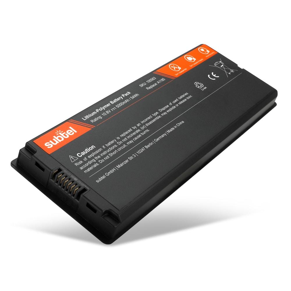 Batteri for MacBook 13 - A1181 - (2006 - 2009) - A1185 (5000mAh) reservebatteri