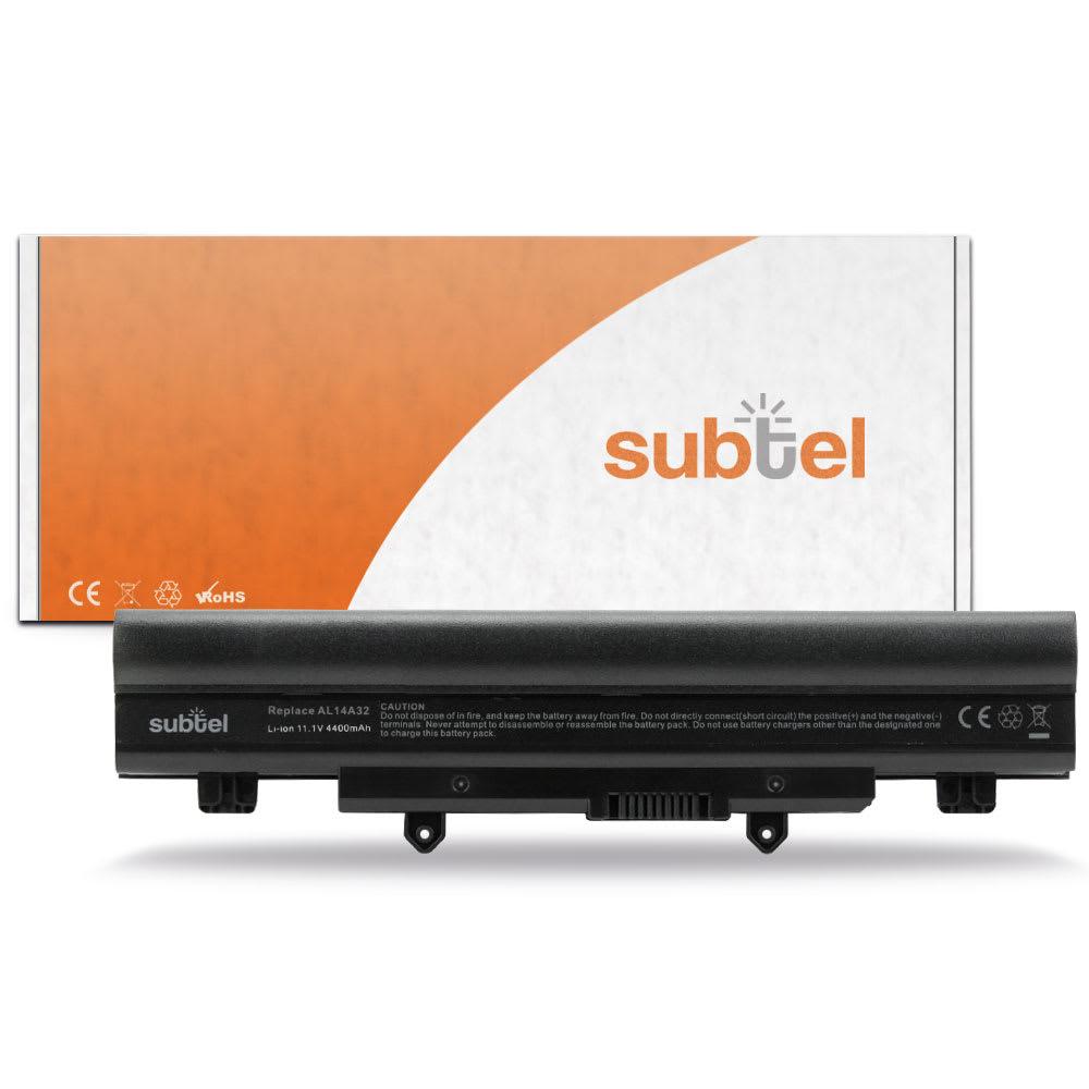 Batteria subtel® AL14A32 per Acer Aspire E5 411 / 421 / 471 / 511 / 521 / 531 / 551 / 571 Affidabile ricambio da 4400mAh Sostituzione ottimale