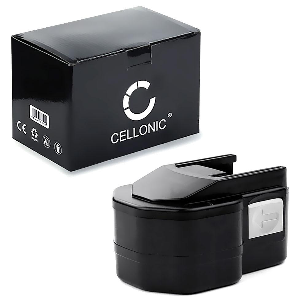 CELLONIC® BXS12, B 12, B 12-1, B 12-1, BX 12, PBS 3000 / 12V batteri för AEG BEST 12 X, BS2E 12 E, BEST 12, BS 12 x, BBS 12 KX RAPTOR trådlösa verktyg med 12V, 3Ah och NiMH