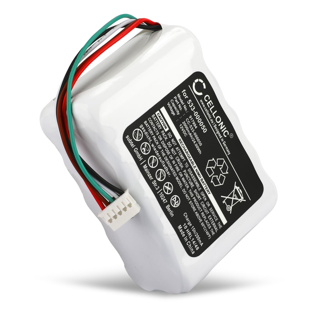 533-000050,HRMR15/51,NT210AAHCB10YMXZ Battery for Logitech Squeezebox Radio (2000mAh) Spare Battery Replacement