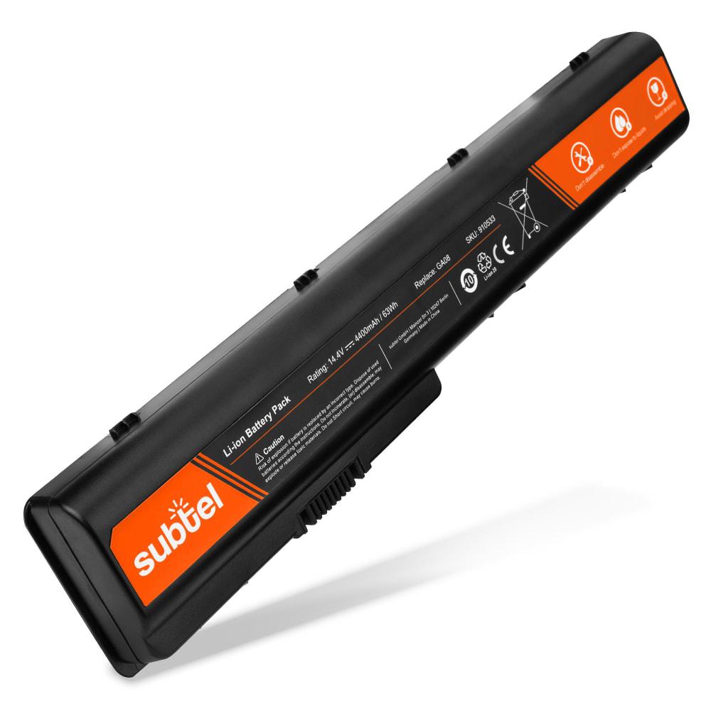 Laptop batterij voor HP Pavilion dv7-1000 / dv7-2000 / dv7-3000 / Pavilion dv8-1000 - GA08 4400mAh vervangende accu notebook