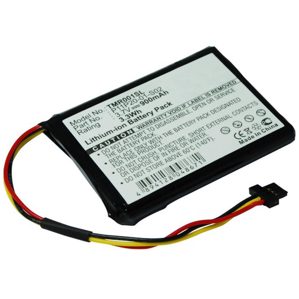GPS accu voor TomTom Route XL, One XXL 540, XXL 550, XXL IQ Routes - ICP653443M,P11P20-01-S02,S2IP002405148 900mAh vervangende batterij