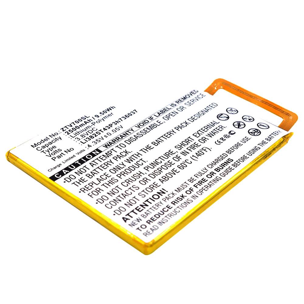 Batterie pour téléphone portableZTE Blade V7 / V7 Lite - Li3825T43P3h736037, 2500mAh interne neuve , kit de remplacement / rechange