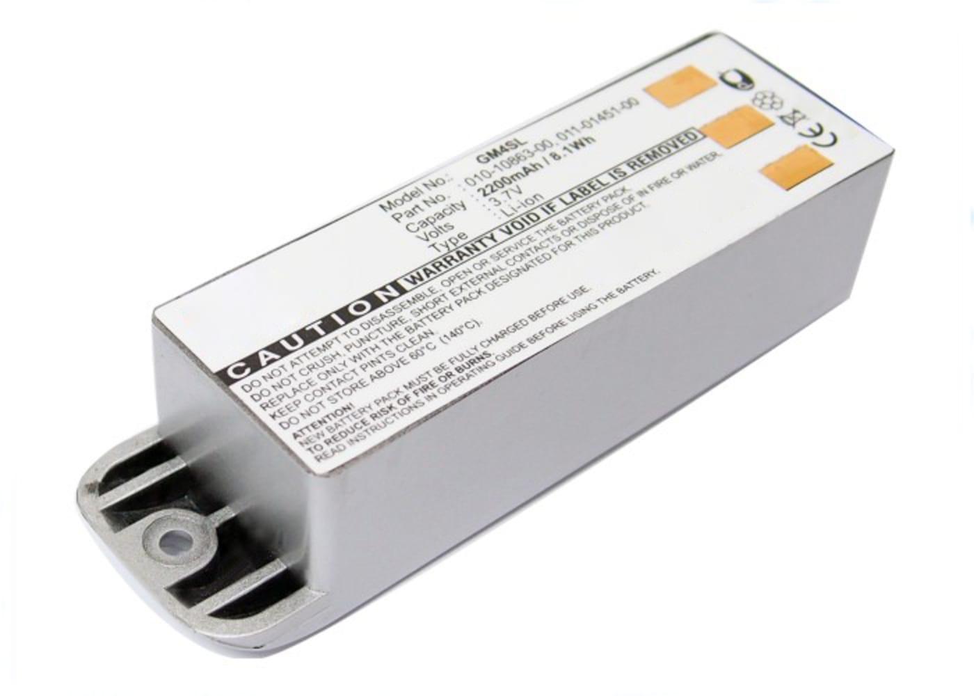 Batterie pour navigateur GPS Garmin zumo 400 zumo 450 zumo 500 zumo 500 Deluxe zumo 550 - 010-10863-00, 011-01451-00 2200mAh