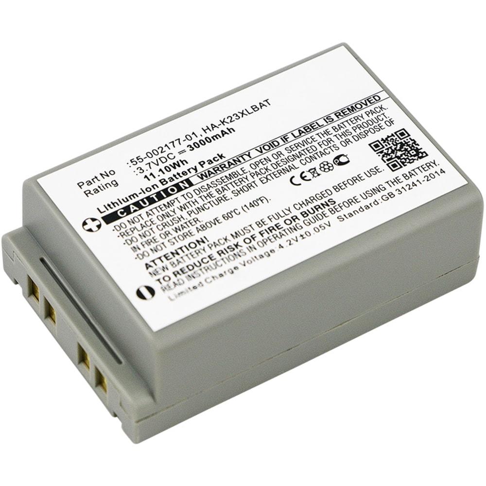 Batterie pour Casio DT-X200 DT-X200-10E DT-X200-20E, Casio DT-X8 DT-X8-10C DT-X8-10C-CN DT-X8-10E DT-X8-10J DT-X8-20C DT-X8-20E DT-X8-20J - 55-002177-01,HA-K23XLBAT 3000mAh
