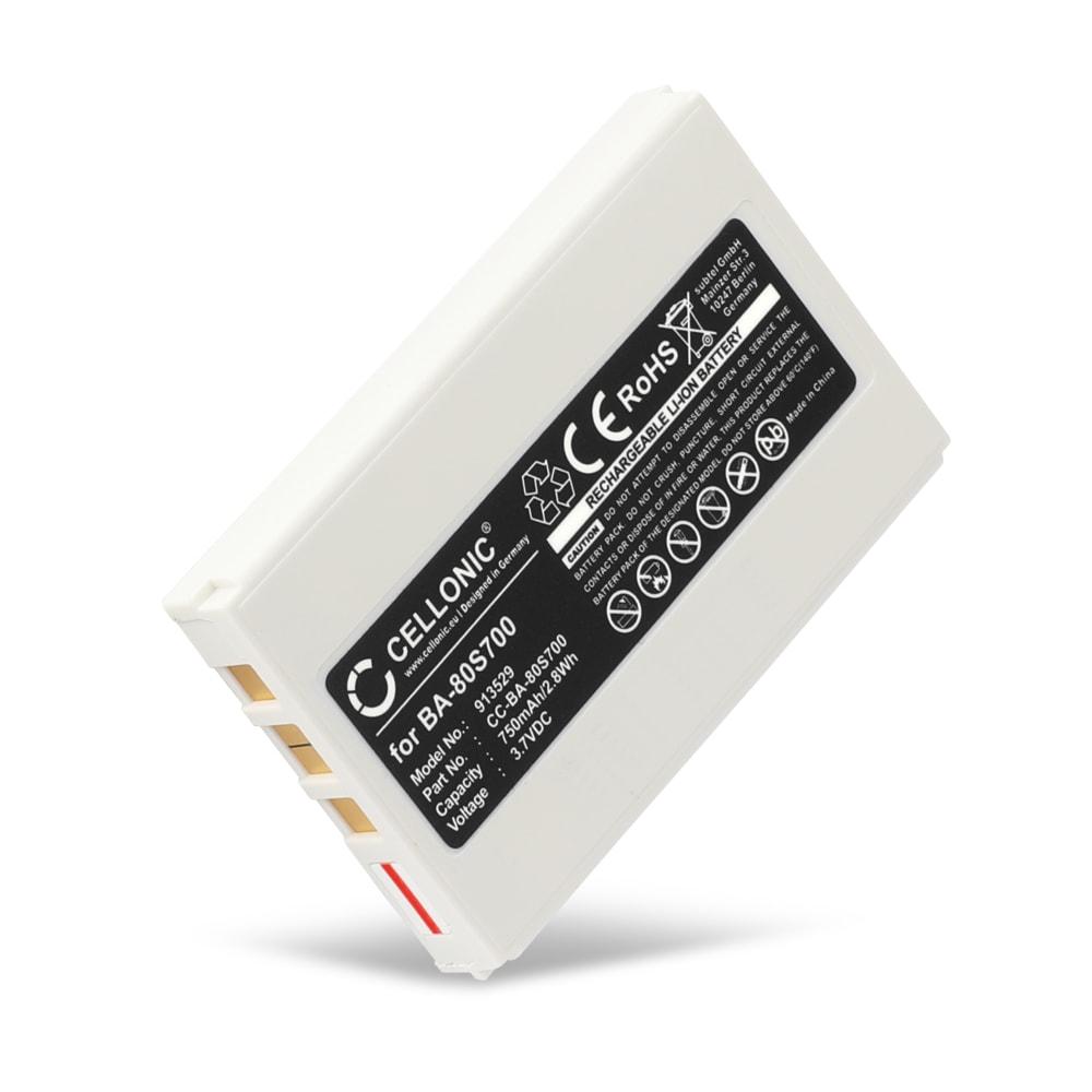 Batterij voor Metrologic Honeywell Optimus S 5500, 5502, 5535, Metrologic MK5502-79B639, Cipherlab 8001, 8300-L - 100845,33-KB1B3770000L3,BA-80S700,46-00311,HON-46-00311 750mAh vervangende accu