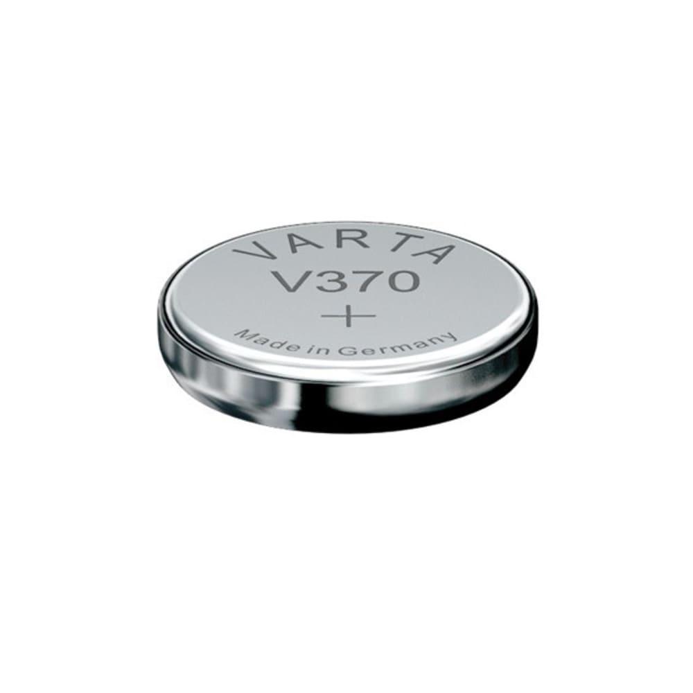 Uhrenbatterie Varta V370 SR69 / SR920W 370 (x1) Knopfbatterie Knopfzelle Zellenbatterie