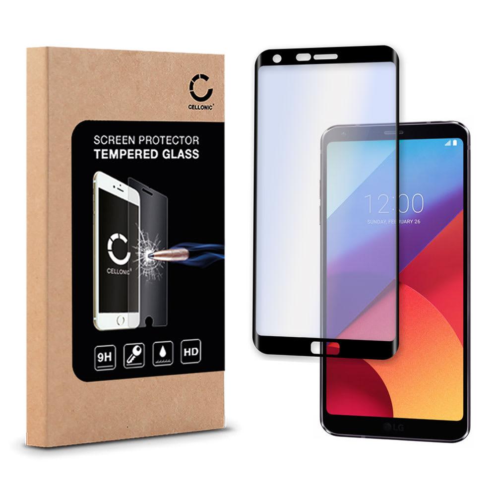 Protection d'écran en verre pour LG G6 - Tempered Glass (Qualité HD / 3D Full Cover / 0,33mm / 9H)