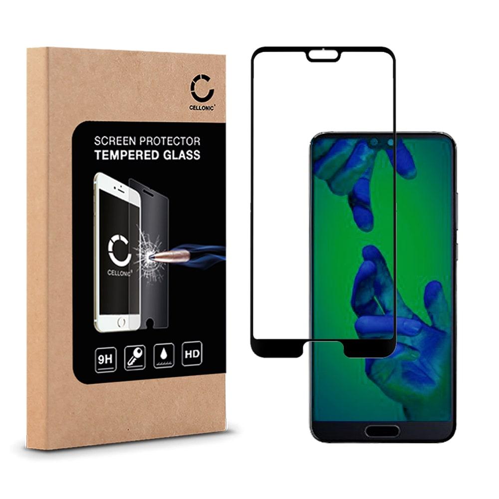Protection d'écran en verre Huawei P20 (3D Full Cover, 9H, 0,33mm, Edge Glue) Verre trempé
