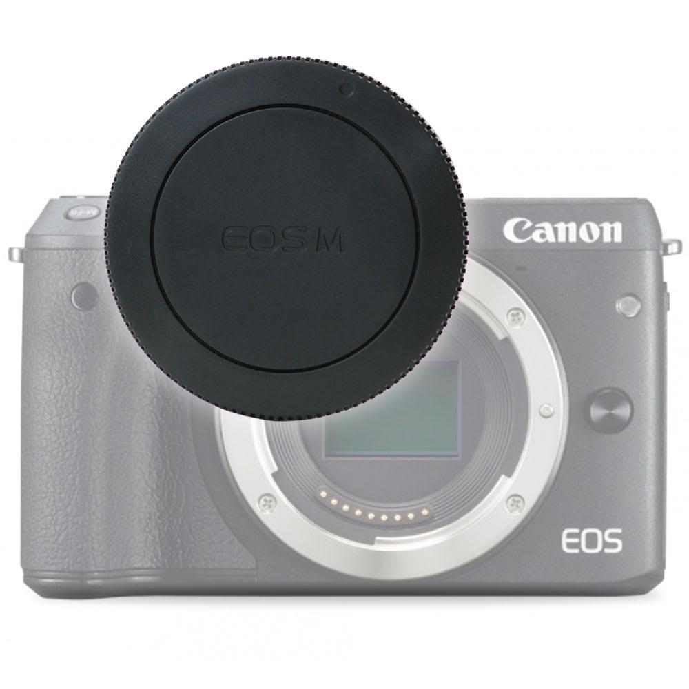 Gehäusedeckel Body Cap für Canon EF-M Mount (Canon EOS M, EOS M3, EOS M5, EOS M6, EOS M10 - RF-4), Bajonettverschluss Kappe, Schutzdeckel Canon EF-M Mount