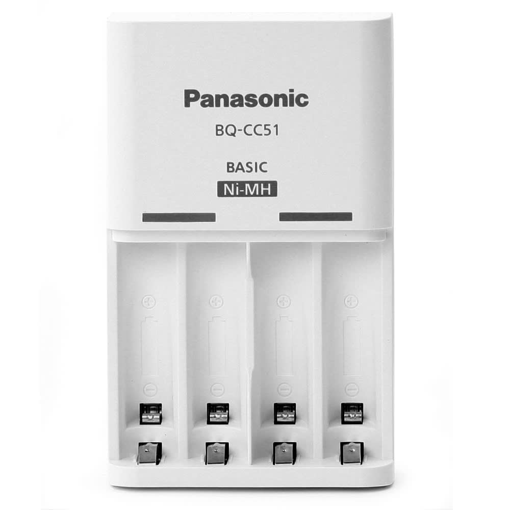 Panasonic Eneloop BQ-CC51E Basic Charger AA/AAA