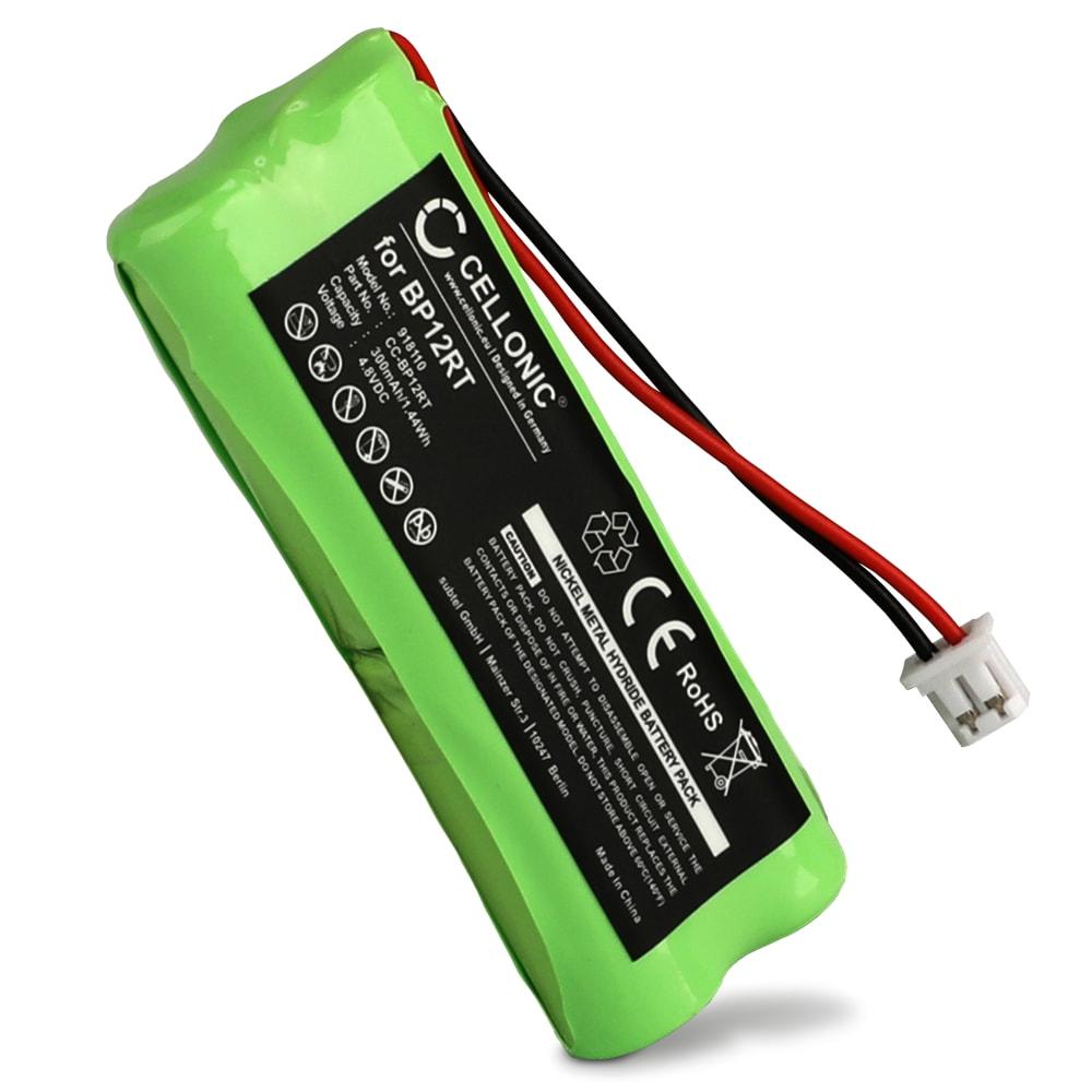 Batteria BP12RT,GPRHC043M016 per Dogtra 1900NCP 1902NCP 1802NCP 175NCP 1600NCP 1500NCP, 200NCP 280NCP 282NCP, Dogtra YS-500 Affidabile ricambio da 300mAh Sostituzione ottimale