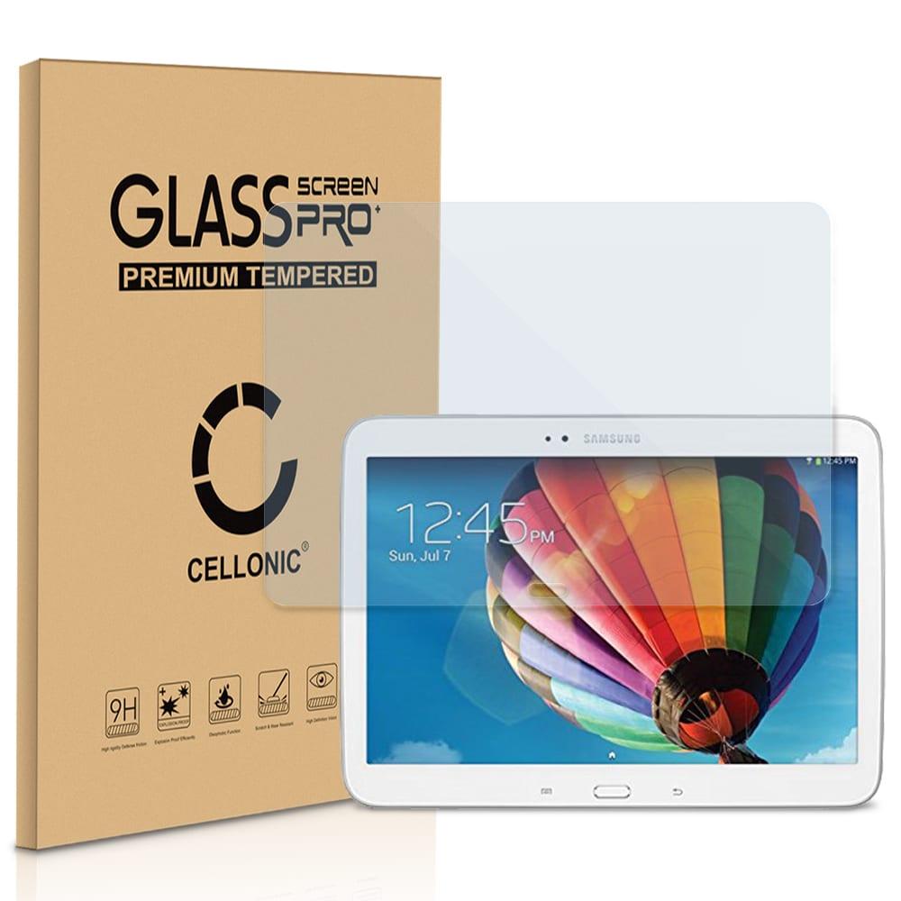 Protection d'écran en verre Samsung Galaxy Tab 3 10.1 (GT-P5200 / GT-P5210 / GT-P5220) (2.5D Angles arrondis , 9H, 0,33mm, Full Glue) Verre trempé