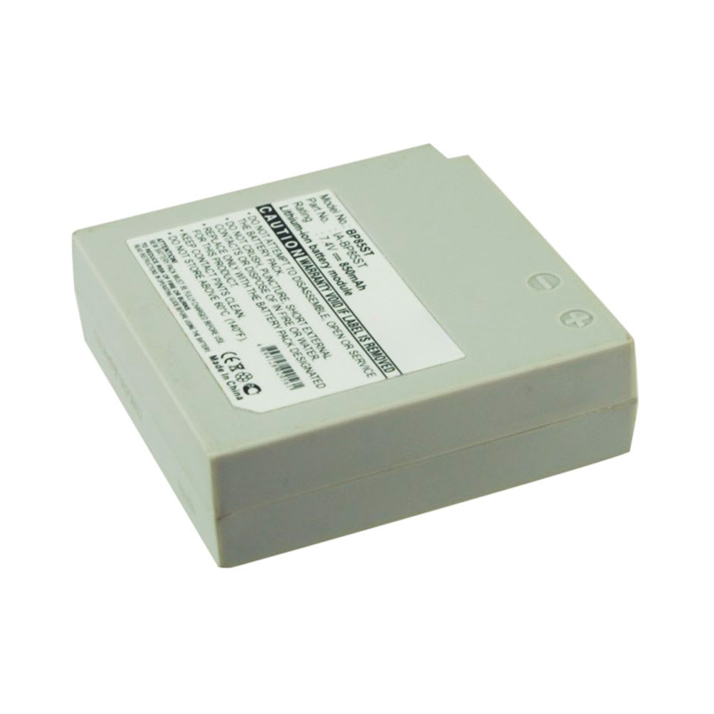 IA-BP85ST,IA-BP85NF Battery for Samsung VP-MX20 -MX25 -MX10 SMX-F30 -F33 -F34 -F300 SC-MX20 -MX10 HMX-H100 VP-HMX10 -HMX20 -HMX08 850mAh Digital Camera Battery Replacement Spare Battery Backup Power Pack