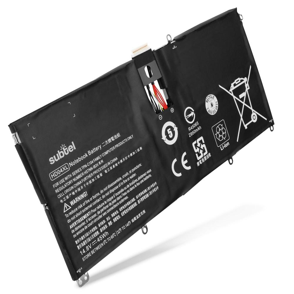 subtel® Laptop Battery for Envy Spectre XT 13-2000 HD04XL 3000mAh Notebook Replacement Battery Power Bank