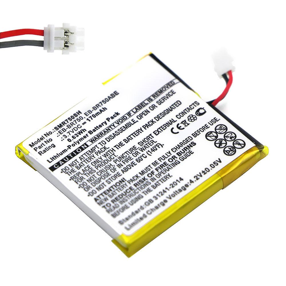 Batterie de remplacement pour montre Samsung Gear S (SM-R750 / SM-R750V / SM-R750B / SM-R750D) - EB-BR750ABE 170mAh