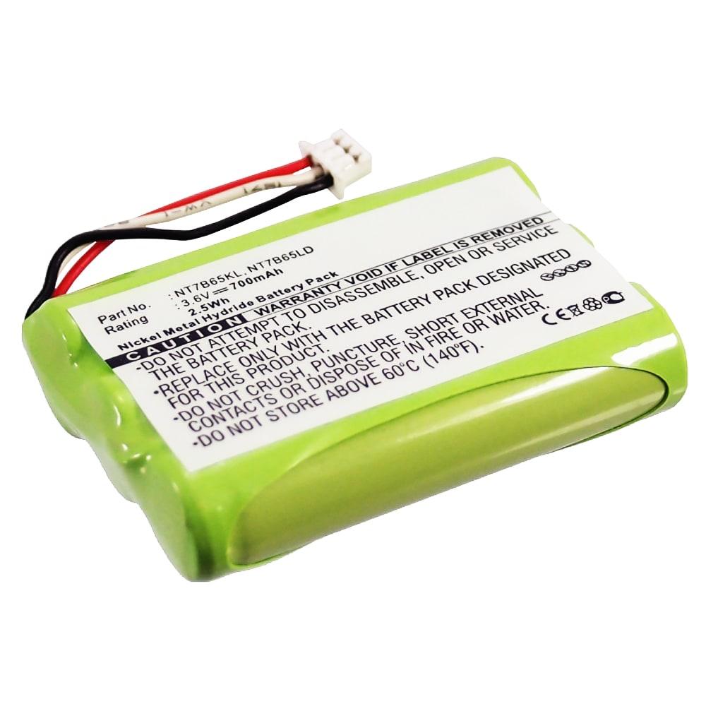subtel® Rechargeable Phone Battery for Spectralink 7202 7212 7420 7480 7522 7520 7540 7620 7740, Polycom KIRK 4020 4040 5020, Agfeo DECT 45, Elmeg DECT 300, Auerswald Comfort DECT 800, Nortel 7449, Avaya 20DT 7449 84743411, NT7B65KL, NT7B65LD Battery Replacement 700mAh